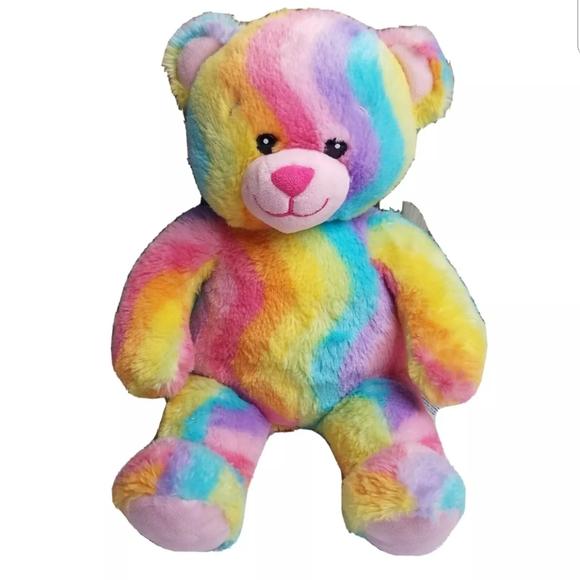 Build A Bear-Rainbow Stripe Leggings-NWT